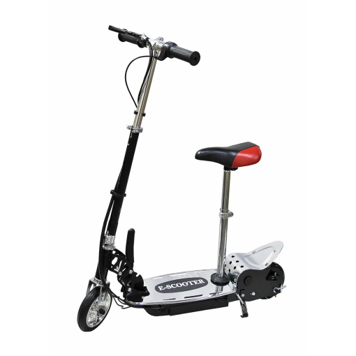 120w electric scooter black with seat