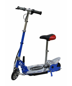 120w E SCOOTER blue with seat