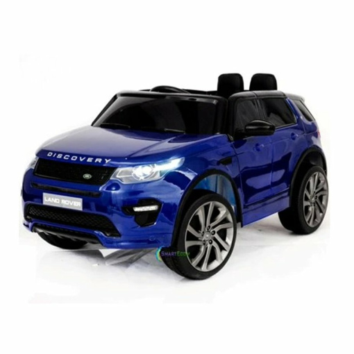 blue land rover discovery kids car