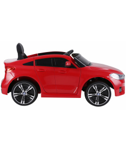kids electric car in red with remote control