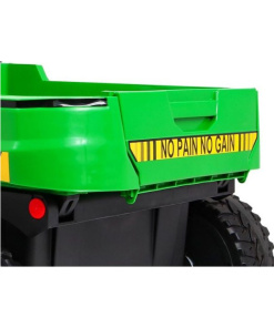 kids farm tractor green