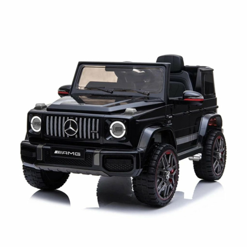 kids large Mercedes g wagon black ride one electric car bbh0003