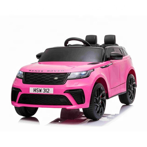 pink range rover velar kids car