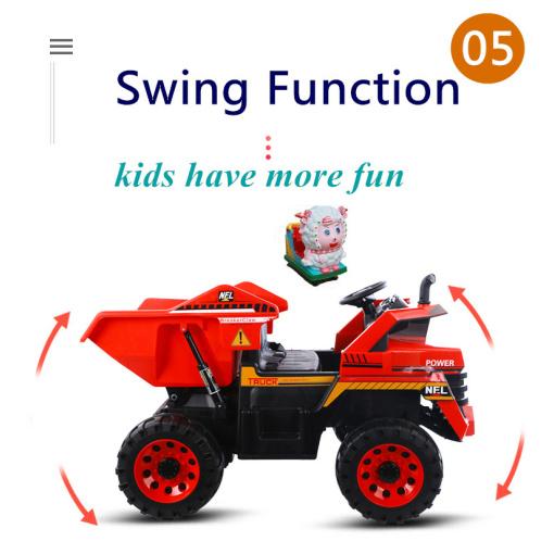 swing function on mining truck
