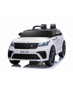 white range rover kids car